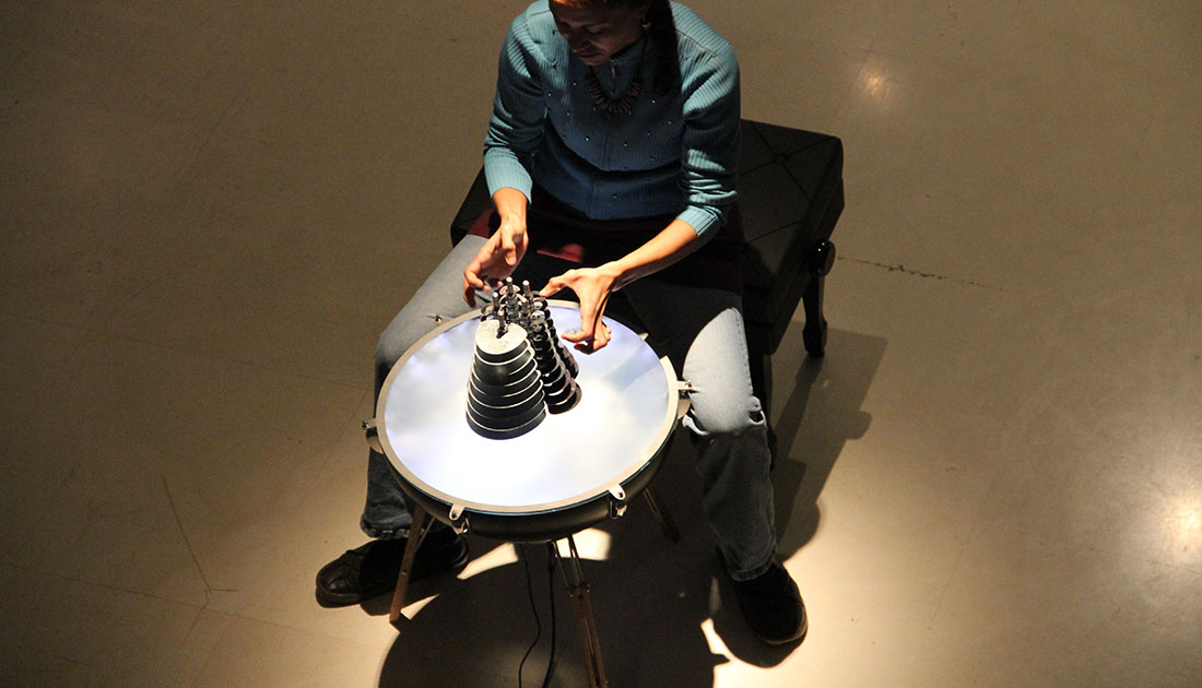 Acrux is a contemporary musical instrument by Victor Gama.