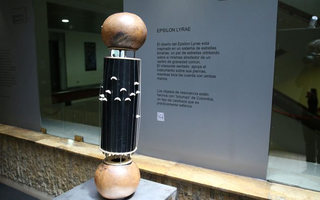 Epsilon Lyrae is a contemporary musical instrument by Victor Gama.