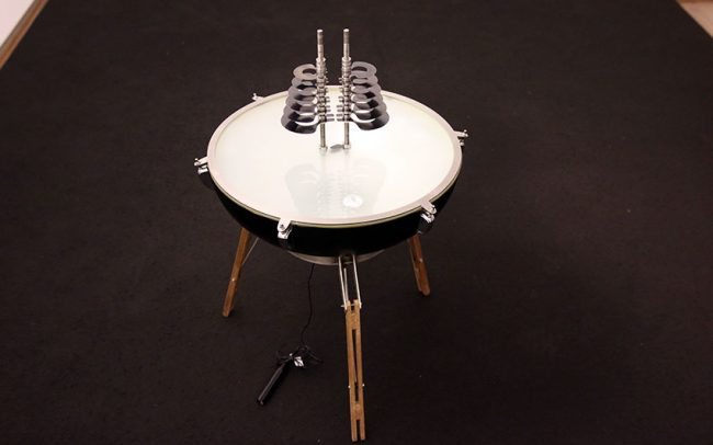 Galcrux is a contemporary musical instrument by Victor Gama.