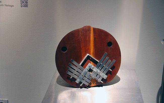 Guin is a contemporary musical instrument by Victor Gama.
