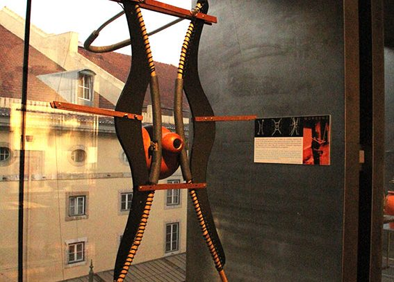 Morcego is a contemporary musical instrument by Victor Gama.